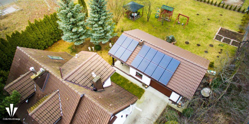 instalacja fotowoltaiczna o mocy 4,64 kWp w Szczecinie