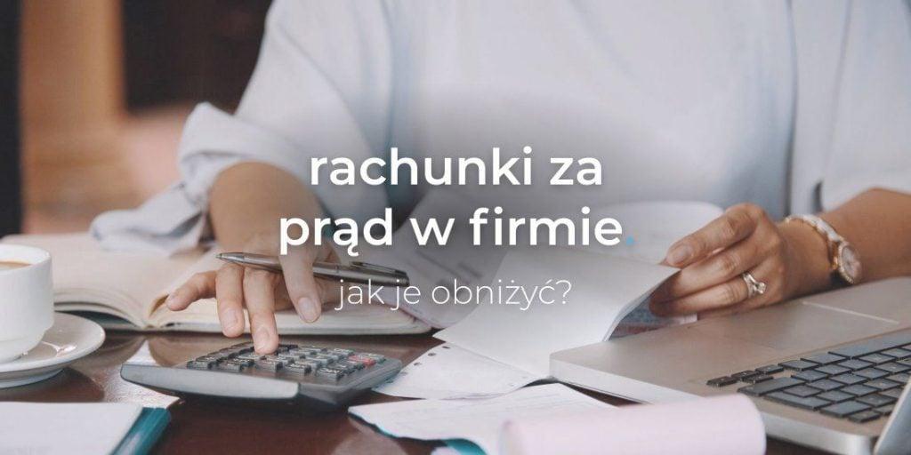rachunek za prąd w firmie